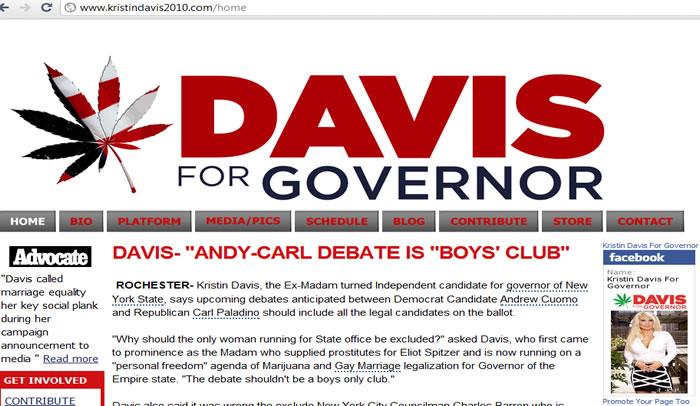 Davids 2010 New York for Governer NY