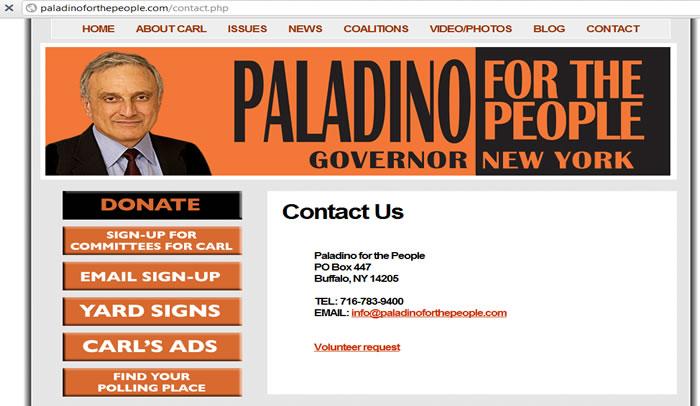 paladino 2010 New York for Governer NY