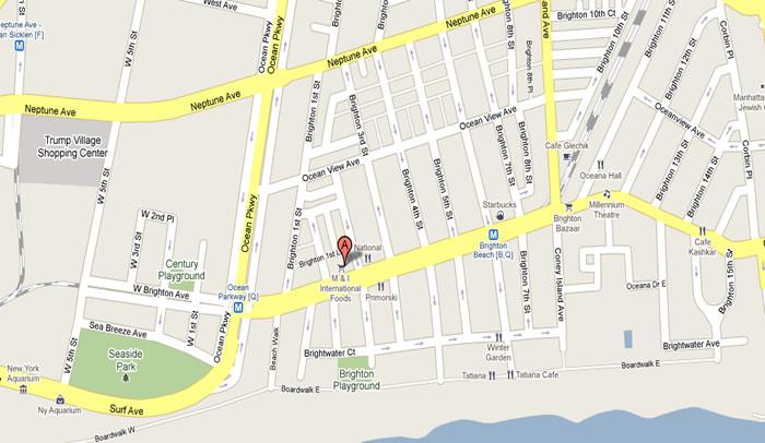 253 Brighton Beach Ave Brooklyn NY турфирма Белла на Брайтане