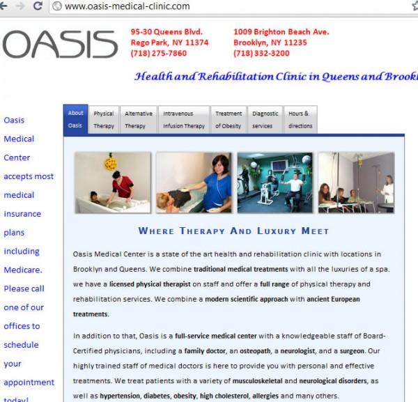 oasis-medical-clinic.com 1009 Brighton Beach Ave Brooklyn NY