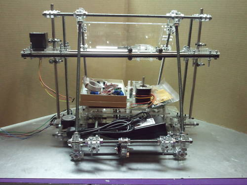 Acrylic RepRap Mendel 3D Printer