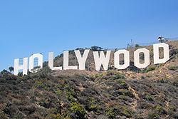 Hollywood Sign Надпись Голливуд