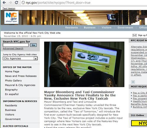 nyc gov webpage view тнсюпщм официальный сайт правительства Нью-Йорка