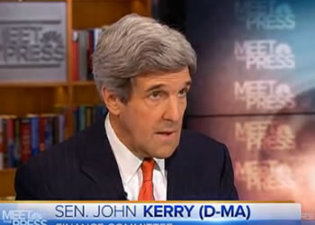 John Kerry Сенатор-демократ Джон Керри