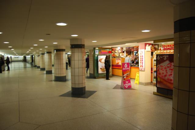 Rockefeller Center subway metro intrance Manhatta New York 2011