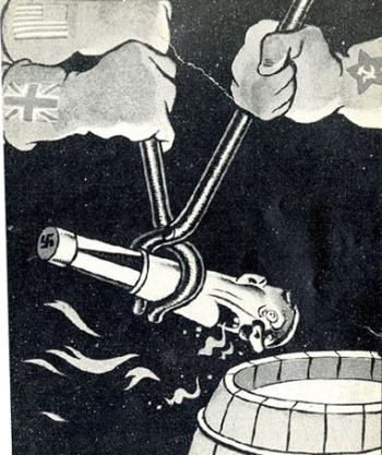 США Англия СССР плакат Вторая Мировая Великая Отечественная Война