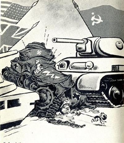 USSR propaganda 1943. Это было в 1943. Сейчас Россия отсиживаеться в сторонке