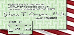 obama birth certificate usa