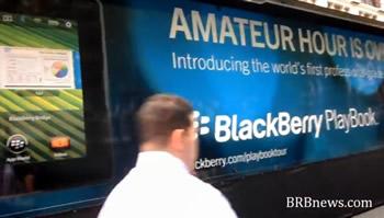 Blackberry playbook Manhattan New York Amateur Hour 2011