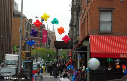 New York toys shop Downtown Manhattan April 2 2011 New York