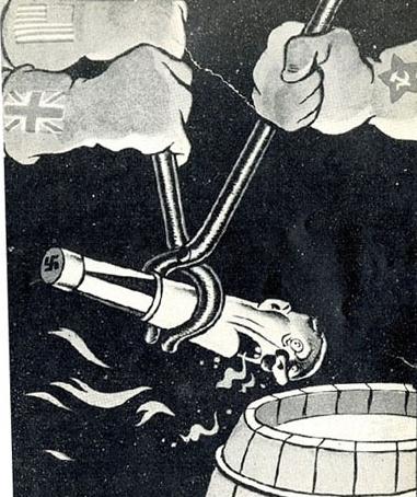 USA USSR GRAIN BRITAN WW2