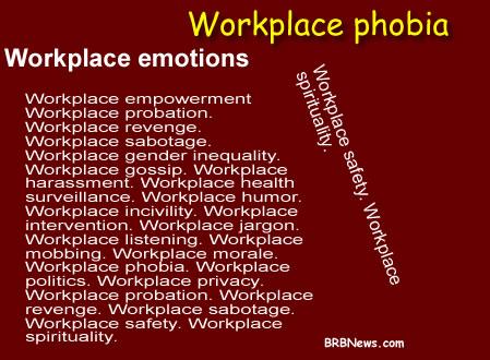 Рабочие места вызывают эмоции на английском языке