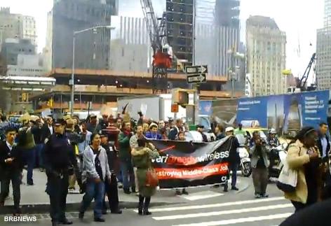 Occupy Wall Street Manhattan October 4 2011 New York