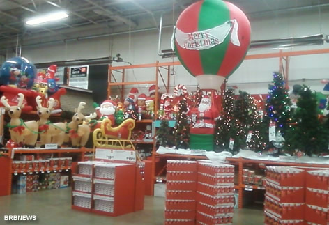 Xmas Home Depo October 5 2011 New York