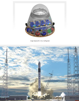 Dragon скриншот spacex.com/dragon.php
