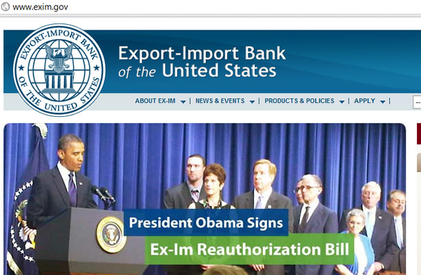 Export-Import Bank Obama New York Russian News