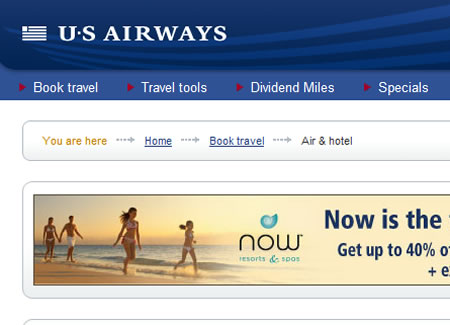 USA Airlines Website New York Russian News