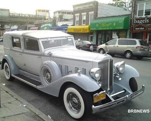 Раритетное авто в Русском Бруклине - 86 стрит и Макдональдс авеню
