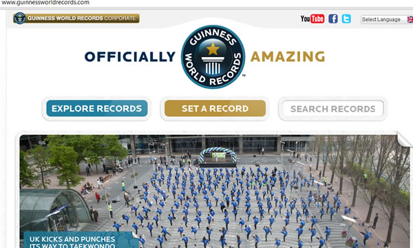 guinnessworldrecords.com online