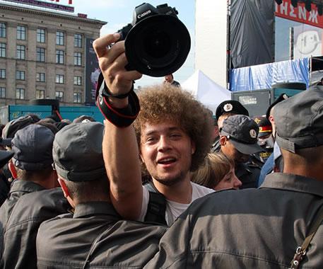 Илья Варламов. Фото с блога предоставленно Ю. Мошей