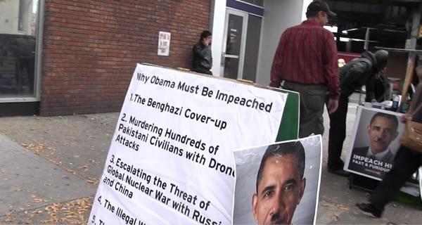 После митинга о импичменте Бараку Обаме