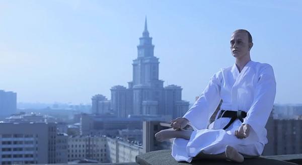 Putin Kimino Doll and Moscow New York News