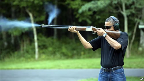 Obama Rifle Russian New York News
