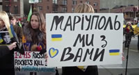 Mariupol Union Square Ukraine Russian New York News USA