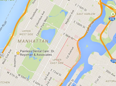 New York real Estate Map Manhattan Yorkville NYC