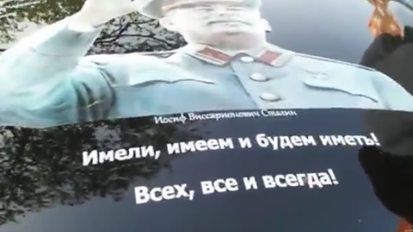 Stalin Car Brooklyn Brighton Russian Victory Day New York News 5 8 2016
