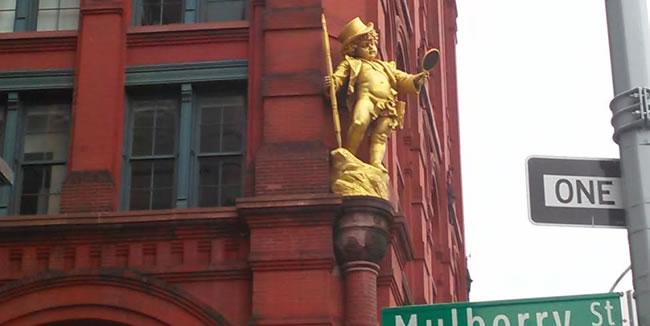 Mulborn Street Manhattan New York
