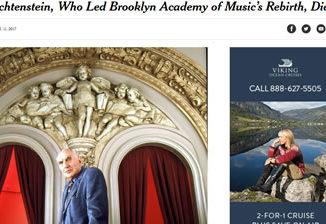 Украина Нью-Йорк, директор Бруклинской Академии Музыки